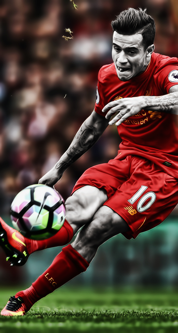 Philippe Coutinho Liverpool Wallpaper HD by adi-149 on