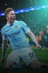 Kevin De Bruyne Manchester City Lock Screen