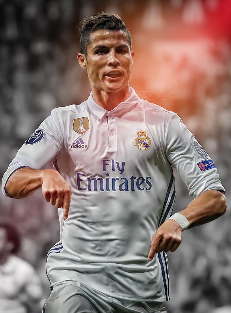 Cristiano Ronaldo Real Madrid iPhone Wallpaper HD by adi ...