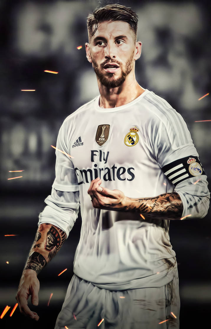 Sergio Ramos Real Madrid IPhone Wallpaper HD By Adi 149 On