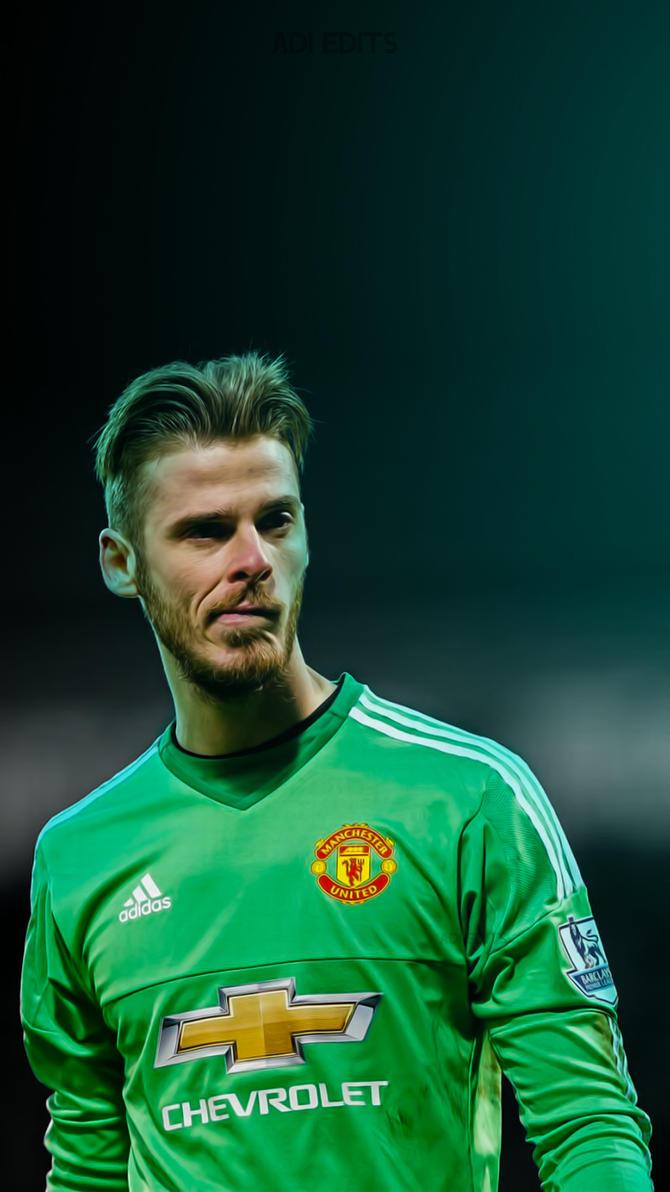 David De Gea Manchester United iPhone Wallpaper HD by adi 149 on