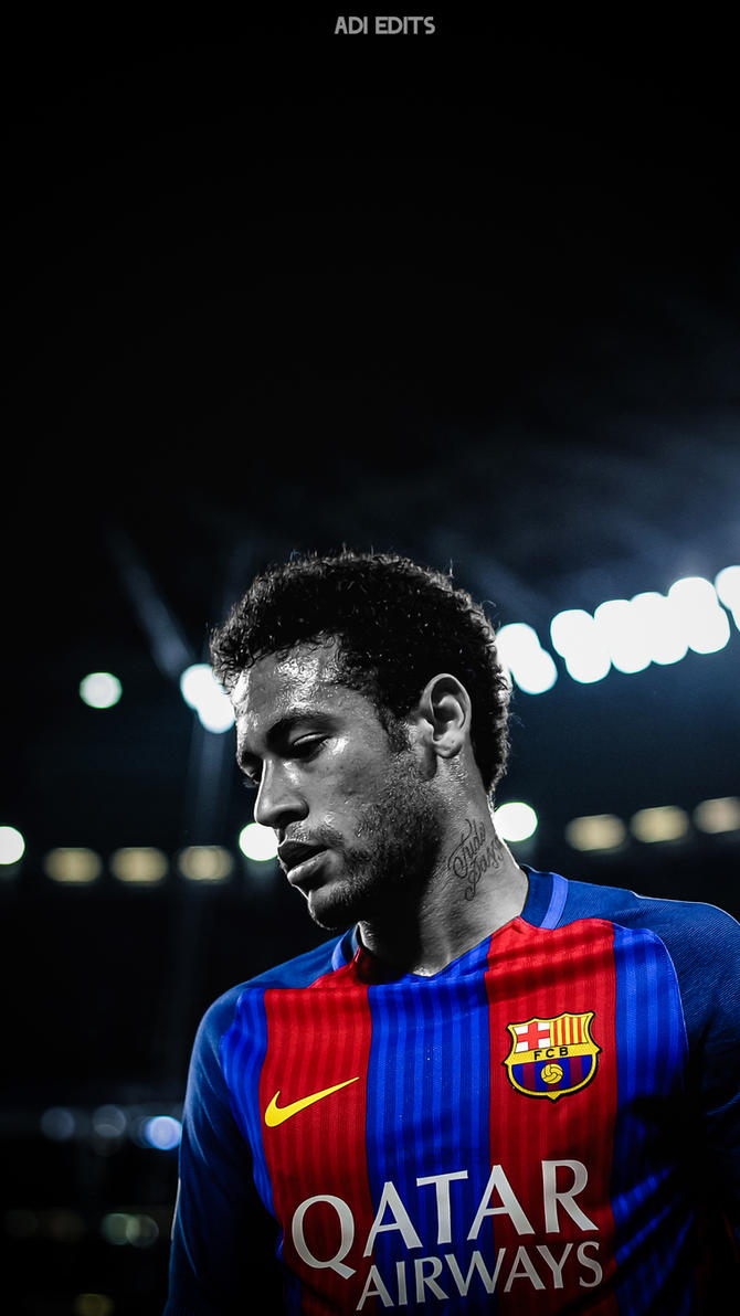 Wallpaper iphone neymar - Neymar Jr Barcelona Hd Lockscreen Wallpaper By Adi 149