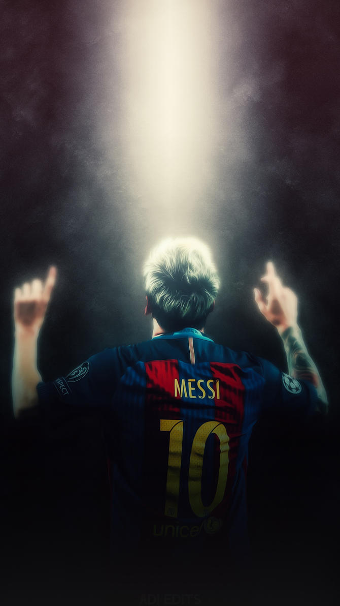 Lionel Messi FC Barcelona Lockscreen Wallpaper HD By Adi 149