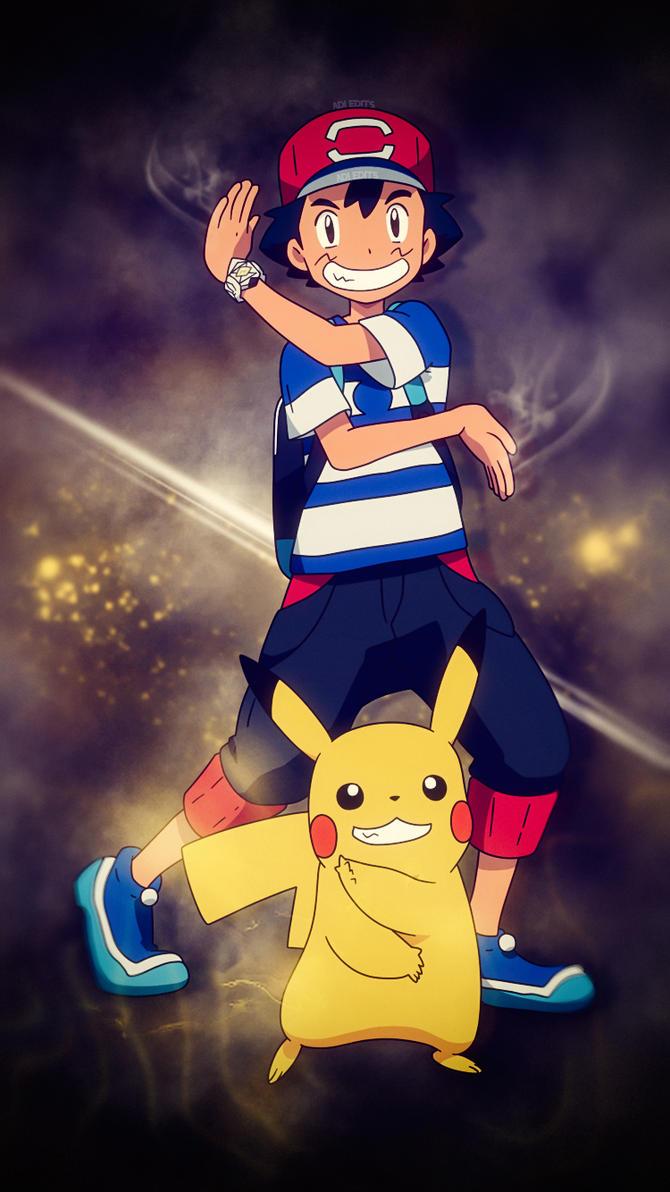 Ash Ketchum Pikachu Pokemon Wallpaper HD By Adi 149