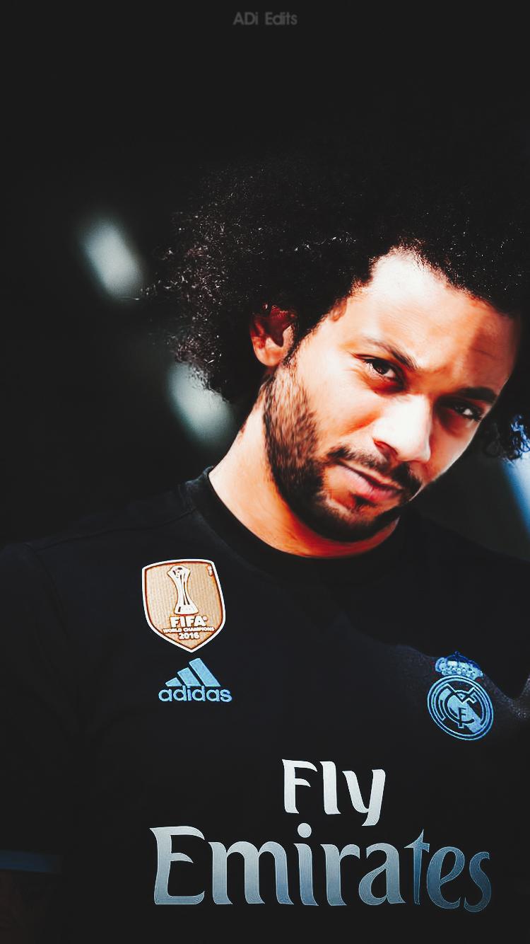Marcelo Vieira Real Madrid Lockscreen Wallpaper By Adi 149