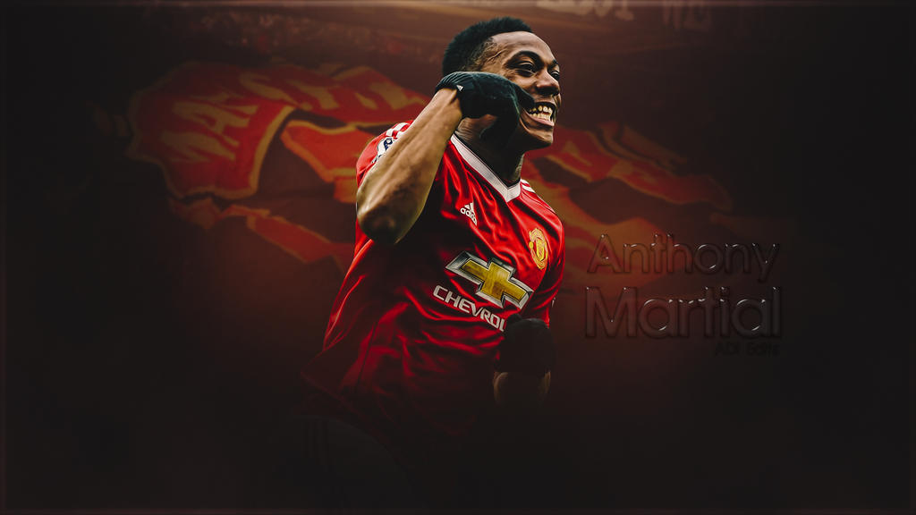 Anthony Martial Manchester United Wallpaper HD By Adi-149