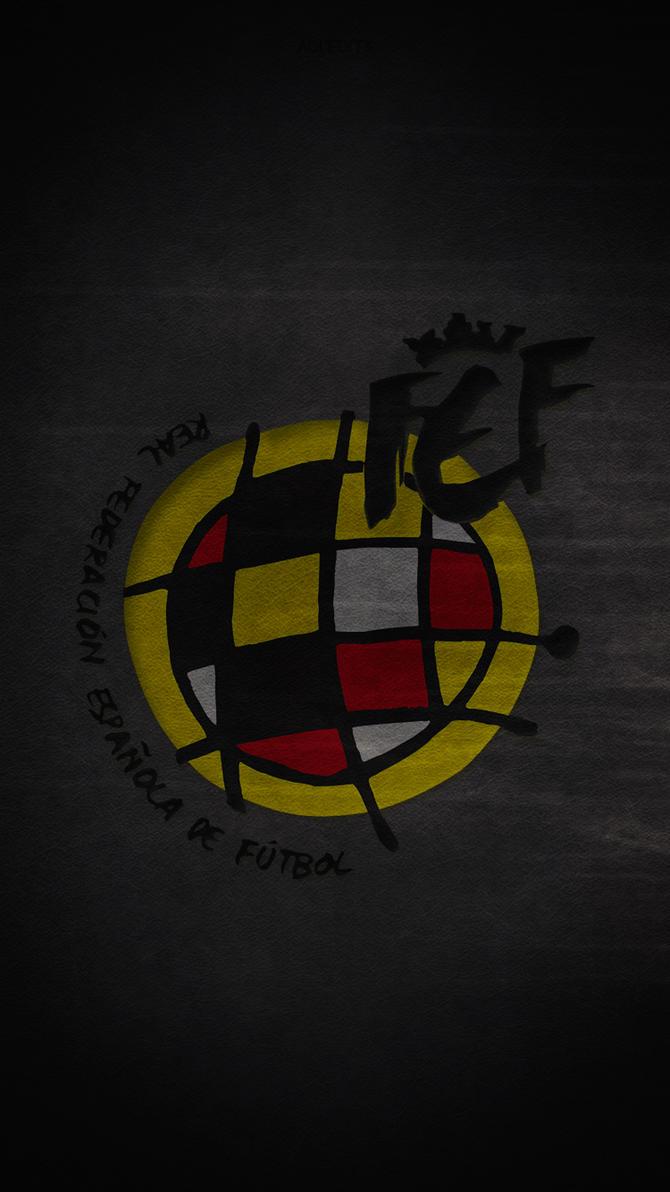 spain football team logo wallpaper hd lockscreenadi-149 on