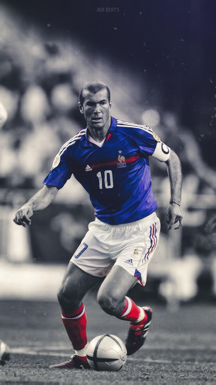 Zinedine Zidane France...