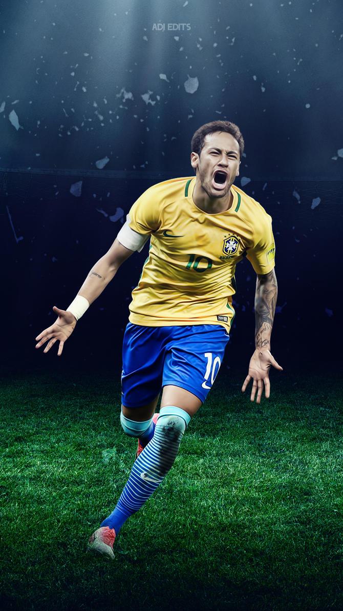 neymar jr. brazil lockscreen wallpaper hdadi-149 on deviantart