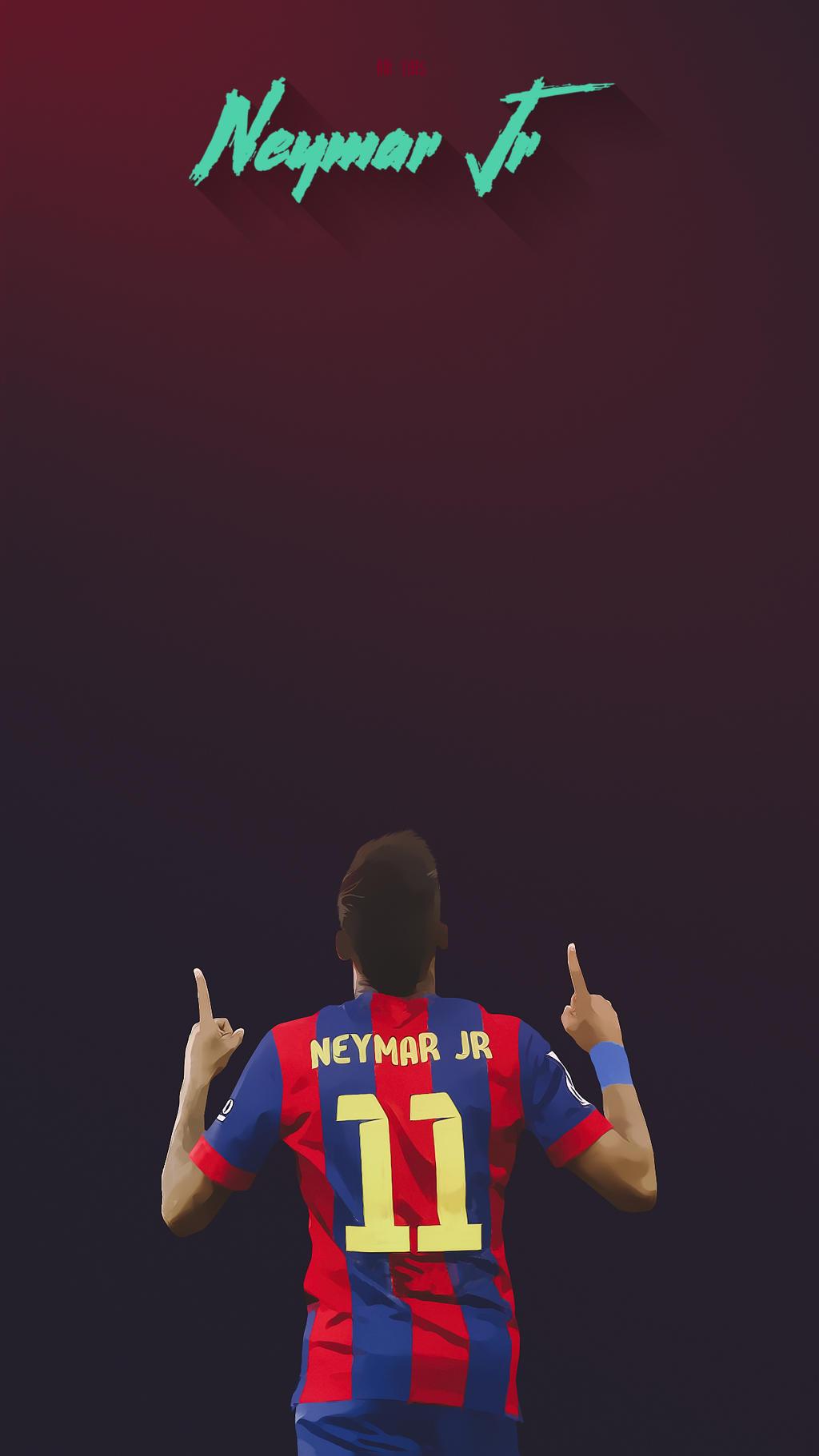 Neymar Jr Barcelona Lockscreen Wallpaper Hd By Adi 149 On