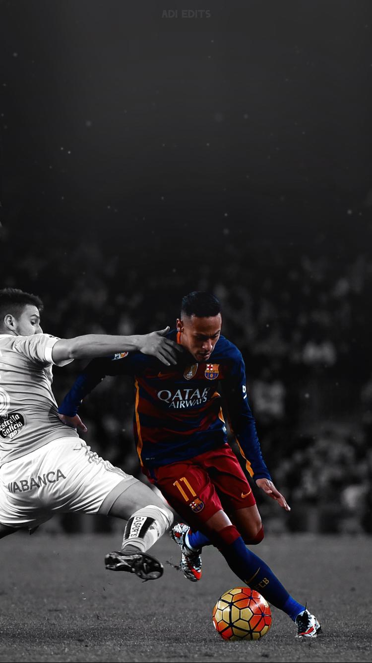 Neymar Jr. Barcelona Lockscreen Wallpaper HD by adi-149 on ...