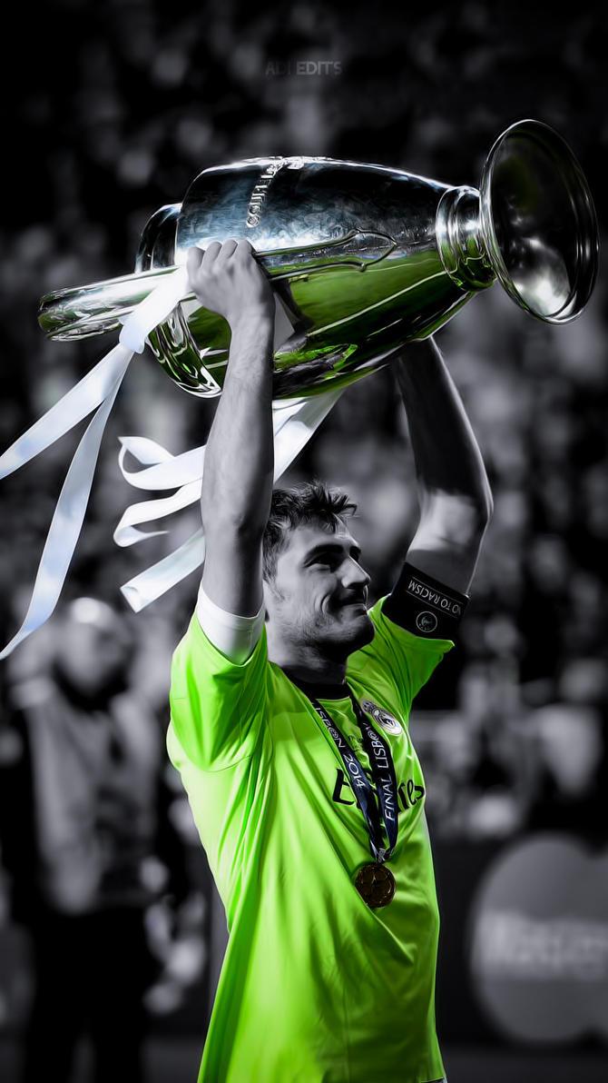 Iker Casillas Real Madrid Lockscreen Wallpaper HD By Adi 149