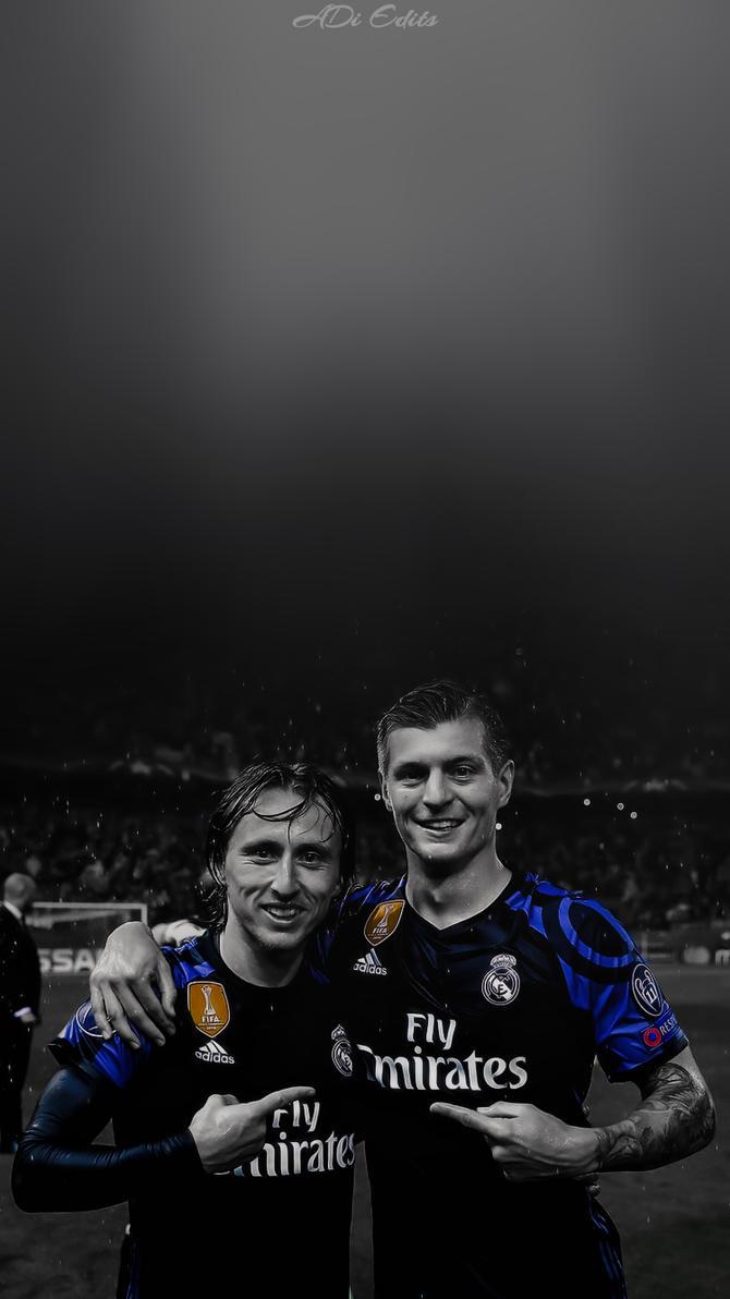 Luka Modric Toni Kroos Lockscreen Real Madrid by adi-149 on DeviantArt