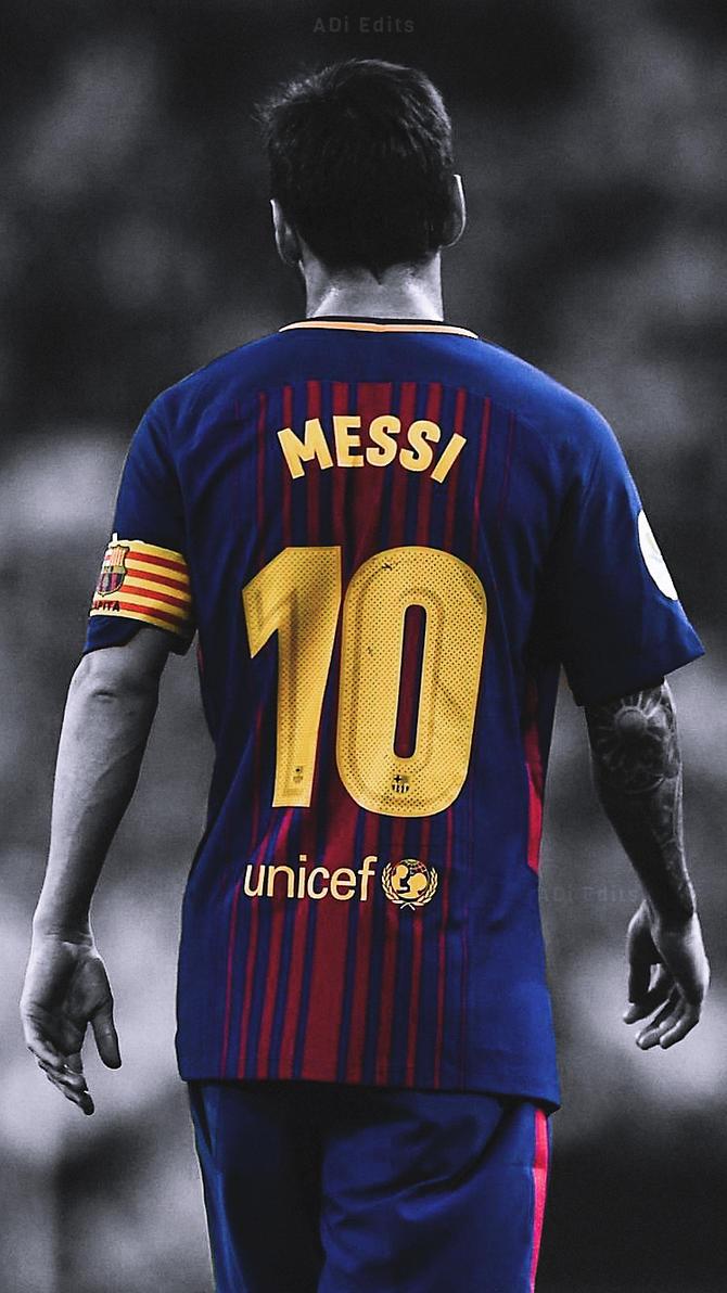 Lionel Messi FC Barcelona Lockscreen Wallpaper HD By Adi 149