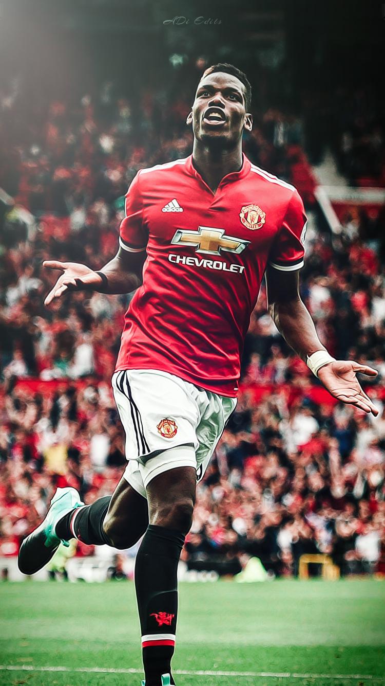 Paul Pogba Manchester United Lockscreen Wallpaper By Adi 149 On Deviantart