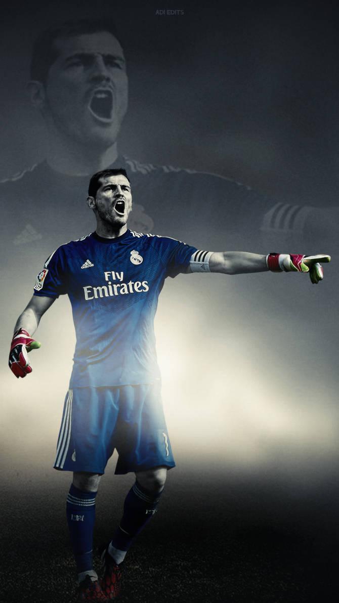 0ece5ba10ab Iker Casillas Real Madrid Wallpaper by adi-149 on DeviantArt