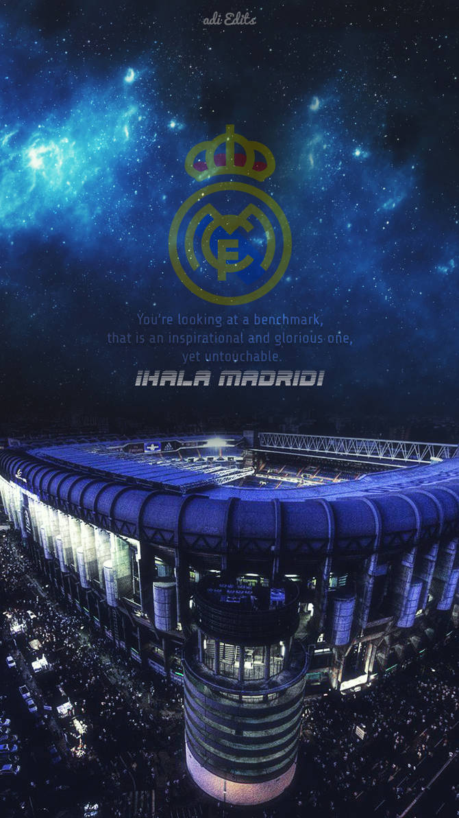 Santiago Bernabeu Real Madrid Wallpaper Lockscreen by adi-149 ...