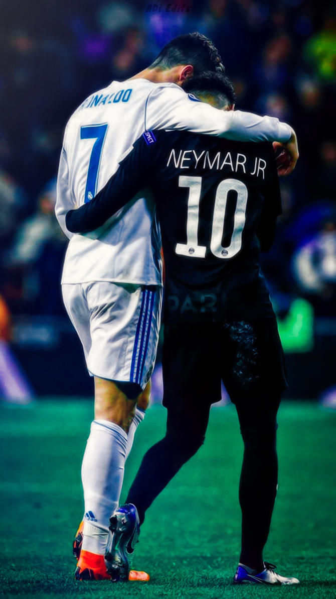 Cristiano Ronaldo Neymar Jr Wallpaper By Adi 149