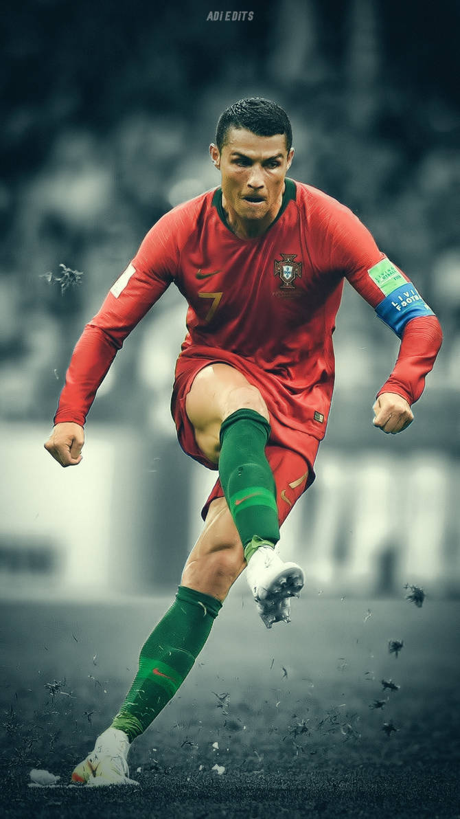 Cristiano Ronaldo Portugal Wc 2018 Wallpaper By Adi 149 On