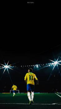 Neymar Jr. Brazil Lockscreen Wallpaper HD