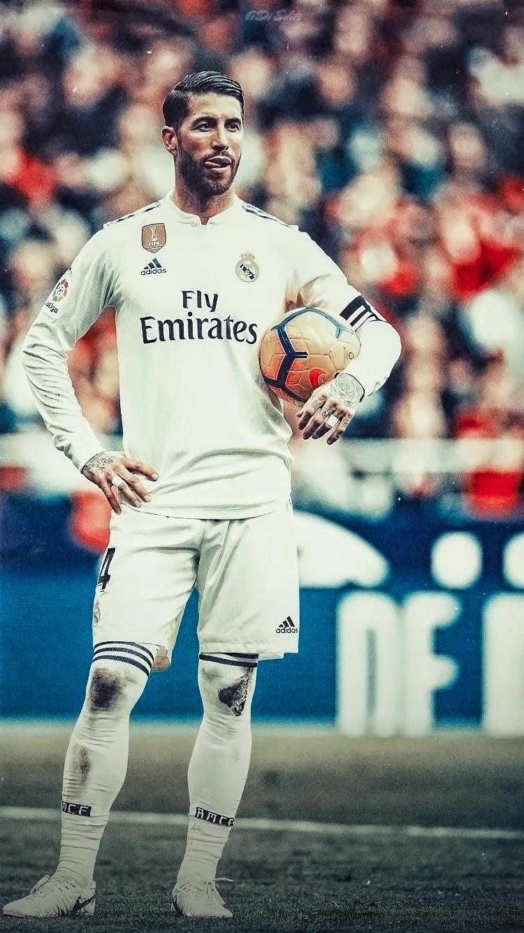 Sergio Ramos Real Madrid Lockscreen Wallpaper Hd By Adi 149
