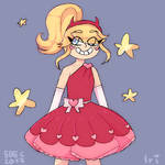 Star Butterfly Doodle