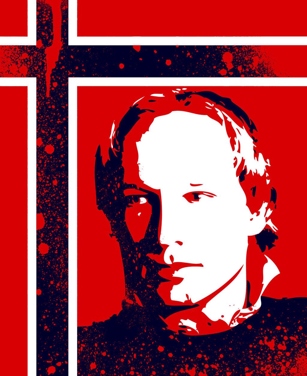 Anders Behrin Breivik by Hi-Teck