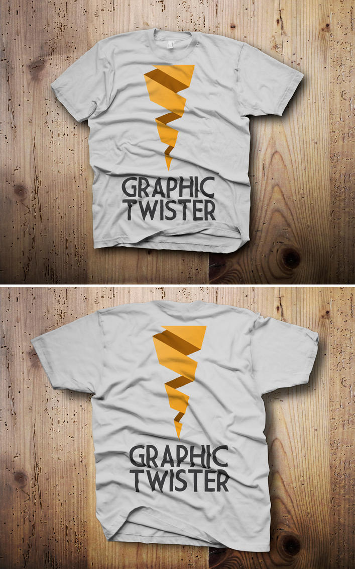 T shirt mockup front and back psd by graphictwister on deviantart for Back of shirt mockup