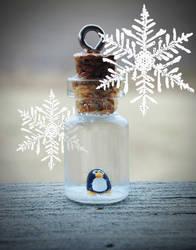 Tiny Penguin Christmas Sale by jen4eternity