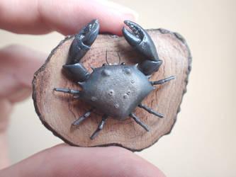 Skyrim miniature Mudcrab wallmount