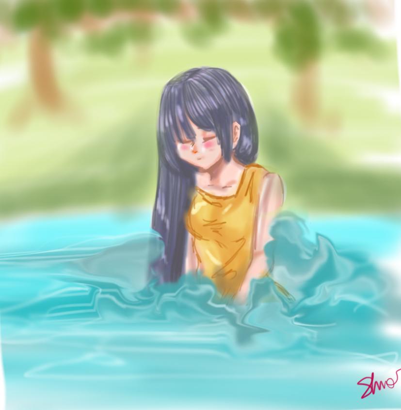 Water by shiroikira