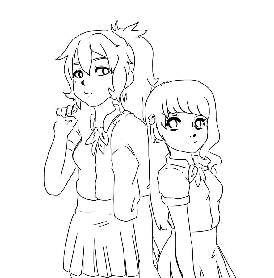 WIP: GANGSTERS by shiroikira