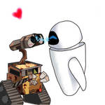 Wall-e and Eve XP