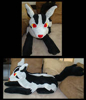 Mightyena plush by Shadowless-Dreamer