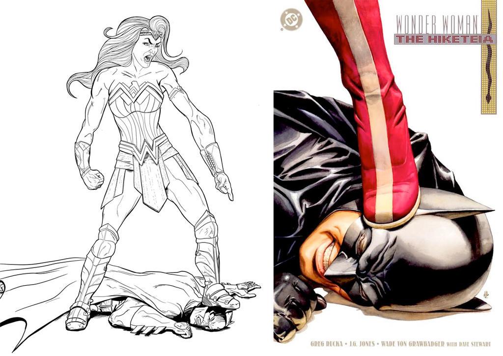 Wonder Woman Hiketeia by jksketch