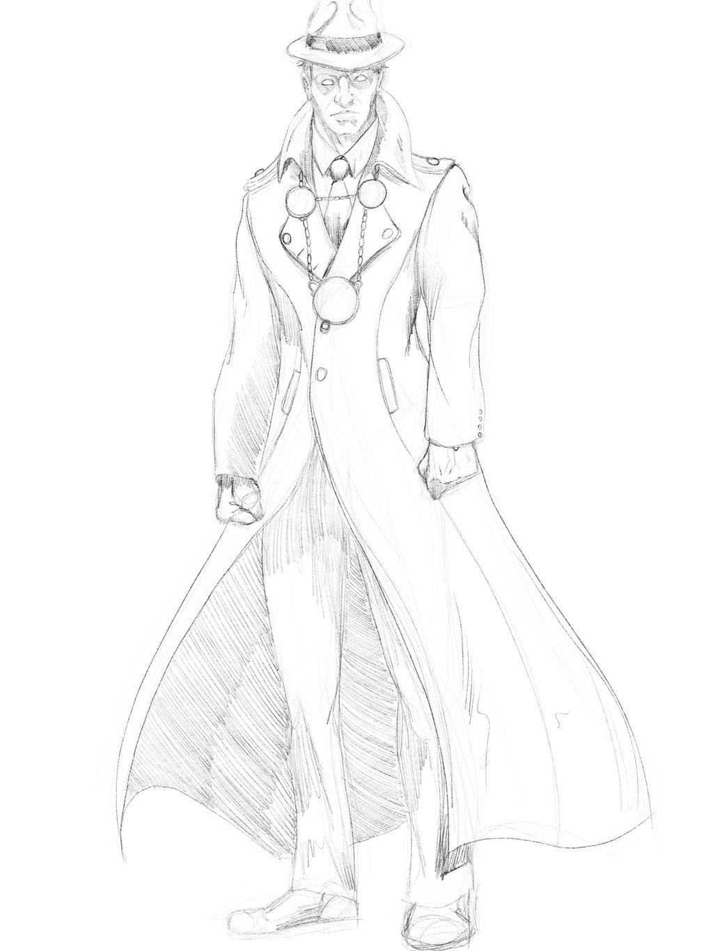 phantom stranger - sketch by jksketch