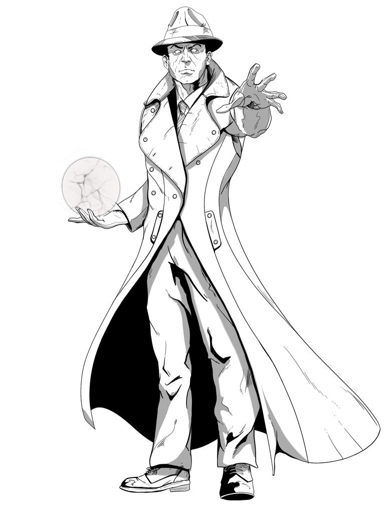 phantom stranger by jksketch