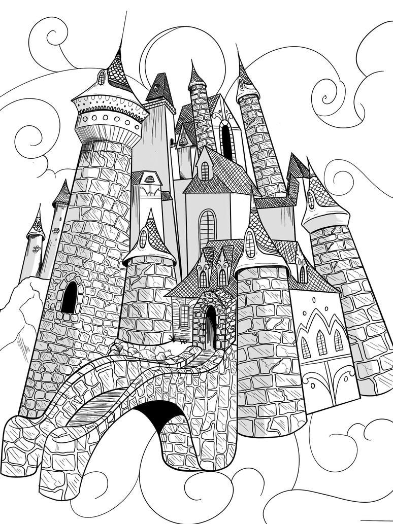 castle by jksketch