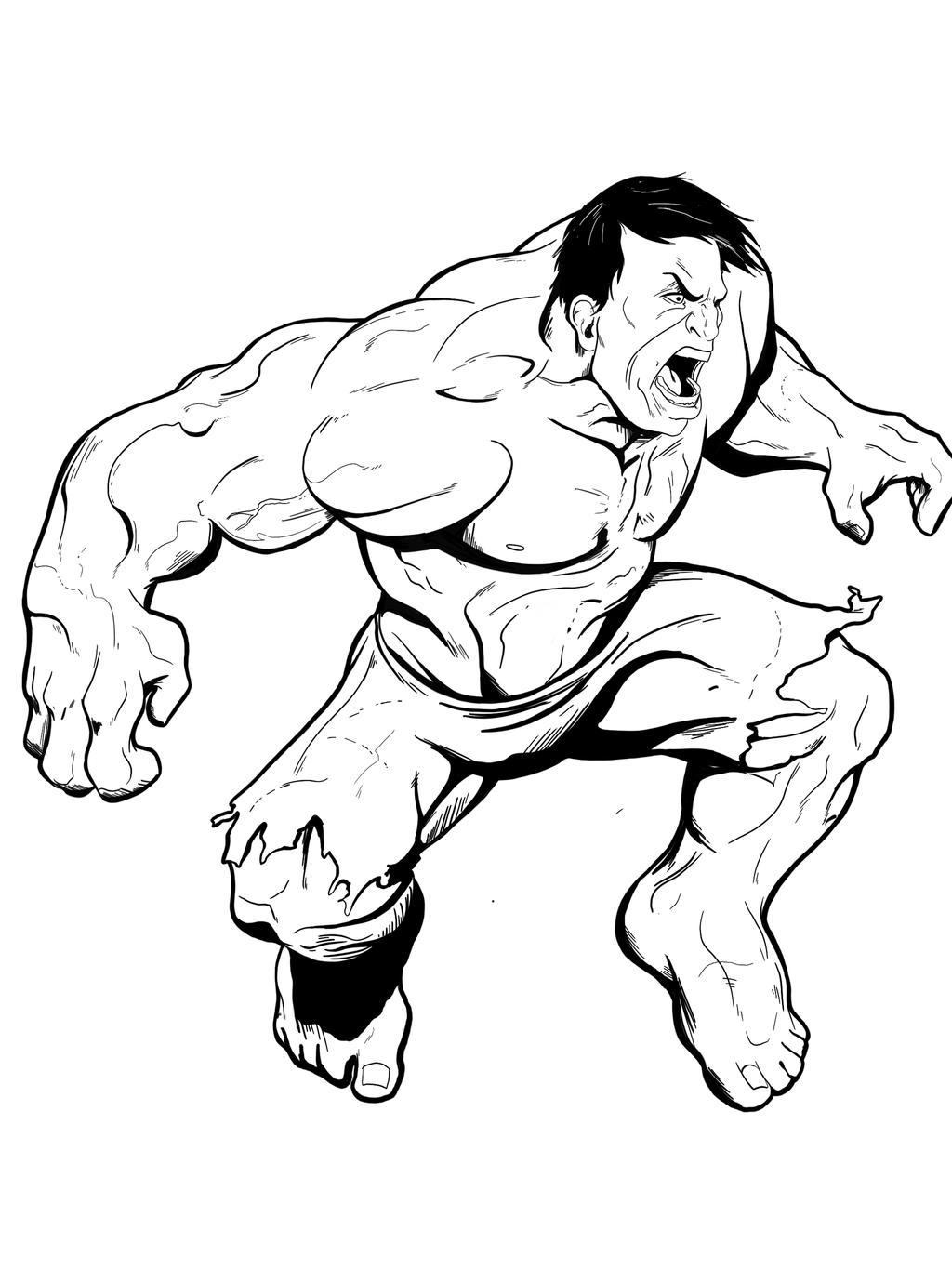 hulk by jksketch