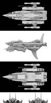 Mizuchi-Class Gunship Isonade