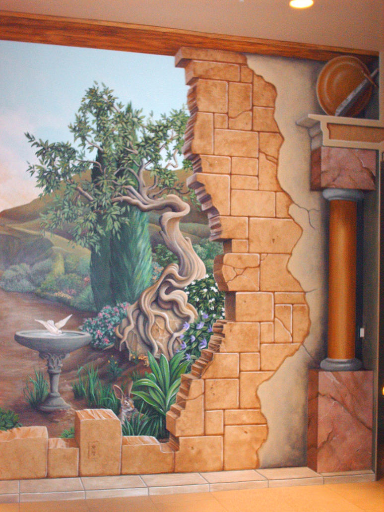 broken wall mural right by gallery of art on deviantart image gallery hand painted wall murals
