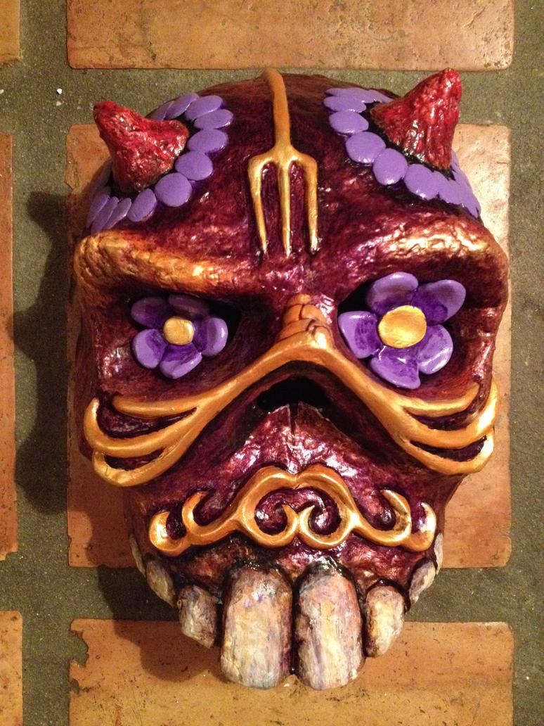 SKULL #19 - FRONT VIEW by Gallery-of-Art