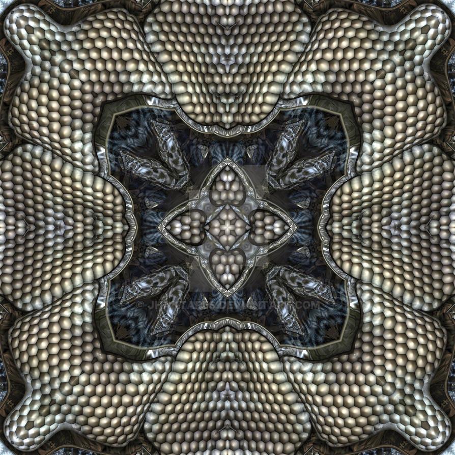 symmetric pattern by jhantares