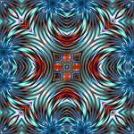 symmetric pattern