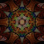 Jwildfire mandala style pattern