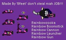 VCTMO Mah Little Rainbow Gun by 8feet