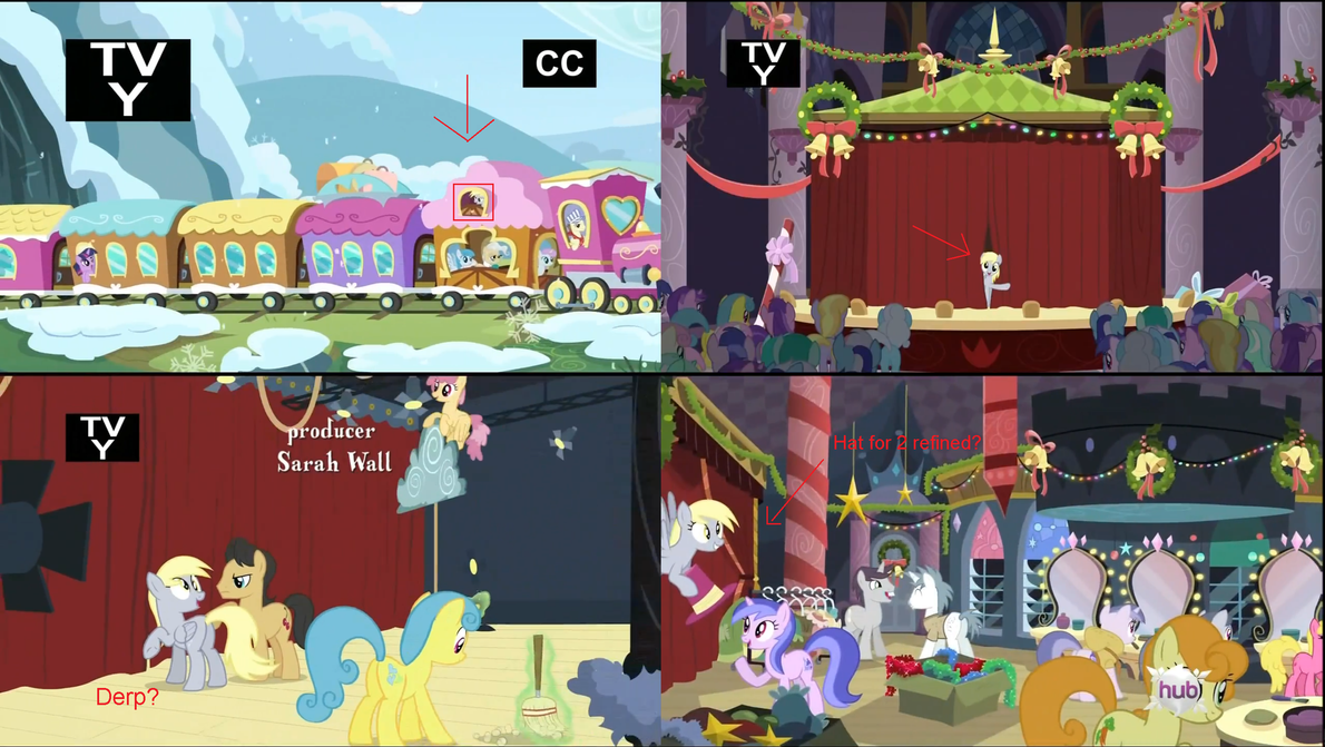 Derpy Hooves in Season 2 Ep 11 by 8feet