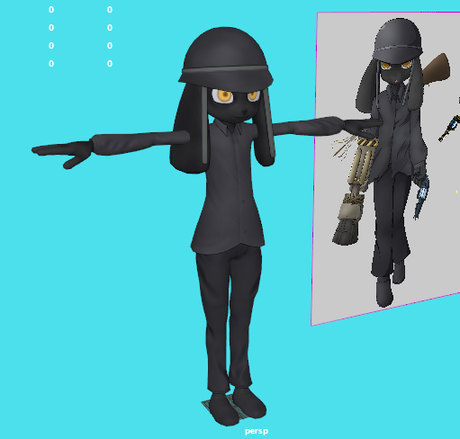 Black 3d Model by 8feet