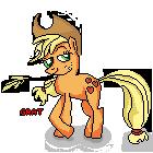 AppleJack Pixel Art by Gratlofatic