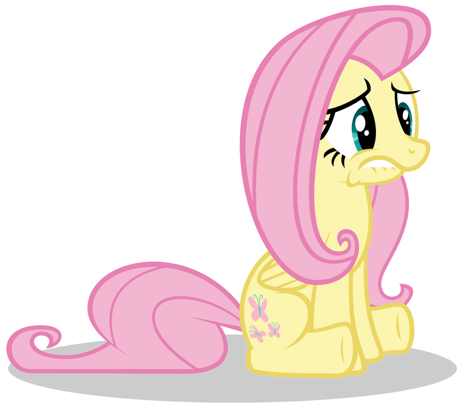 Fluttershy Is Be Worried II by Gratlofatic